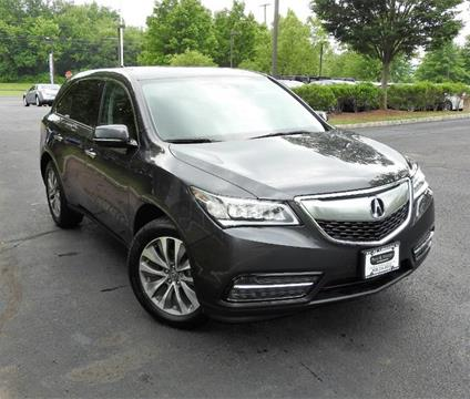 2015 Acura MDX for sale in Lebanon NJ