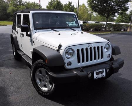 2015 Jeep Wrangler Unlimited for sale in Lebanon, NJ