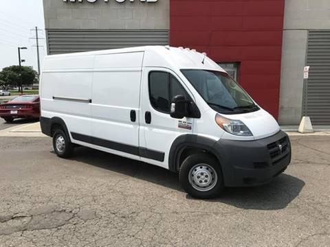 Cargo Van For Sale >> 2018 Ram Promaster Cargo For Sale In Detroit Mi