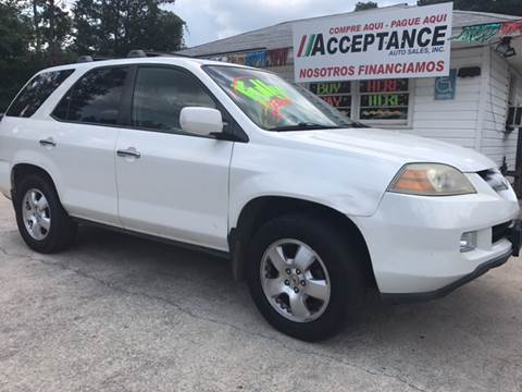 2006 Acura MDX for sale at Acceptance Auto Sales Douglasville in Douglasville GA