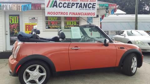 2005 MINI Cooper for sale at Acceptance Auto Sales Douglasville in Douglasville GA