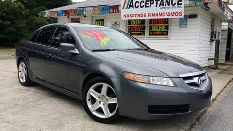 2005 Acura TL for sale at Acceptance Auto Sales Douglasville in Douglasville GA