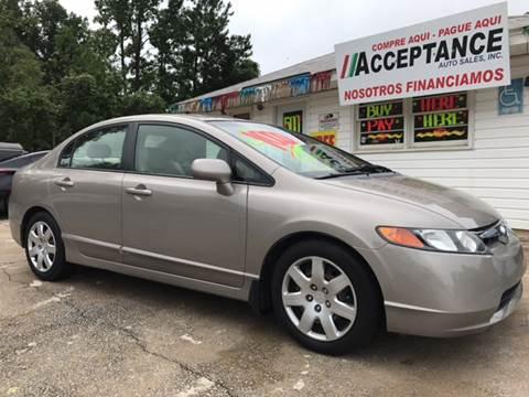 2006 Honda Civic for sale at Acceptance Auto Sales Douglasville in Douglasville GA