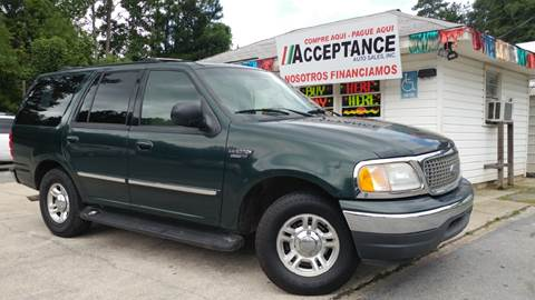 2001 Ford Expedition for sale at Acceptance Auto Sales Douglasville in Douglasville GA