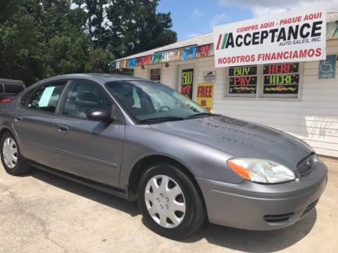 2006 Ford Taurus for sale at Acceptance Auto Sales Douglasville in Douglasville GA