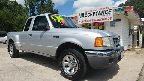 2003 Ford Ranger for sale at Acceptance Auto Sales Douglasville in Douglasville GA