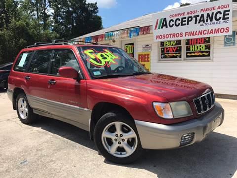 2002 Subaru Forester for sale at Acceptance Auto Sales Douglasville in Douglasville GA