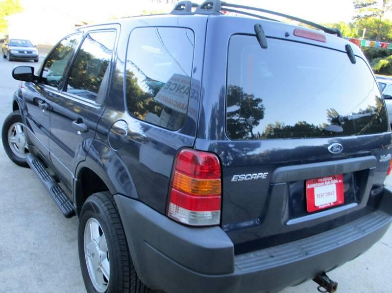 2003 Ford Escape XLS Popular 4WD 4dr SUV - Douglasville GA