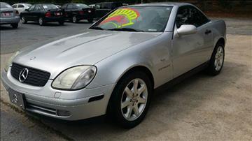 1998 Mercedes-Benz SLK for sale in Douglasville, GA