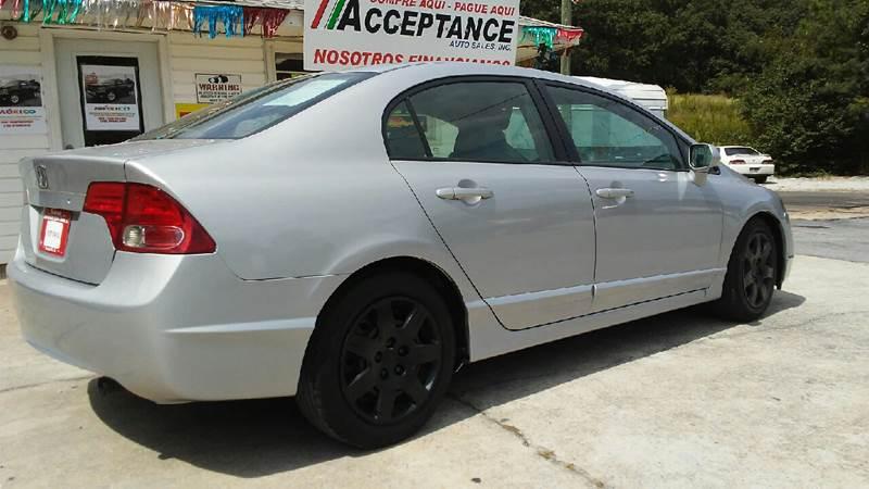 2008 Honda Civic LX 4dr Sedan 5A - Douglasville GA
