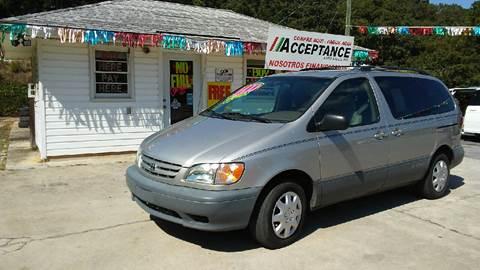 2003 Toyota Sienna for sale in Douglasville, GA