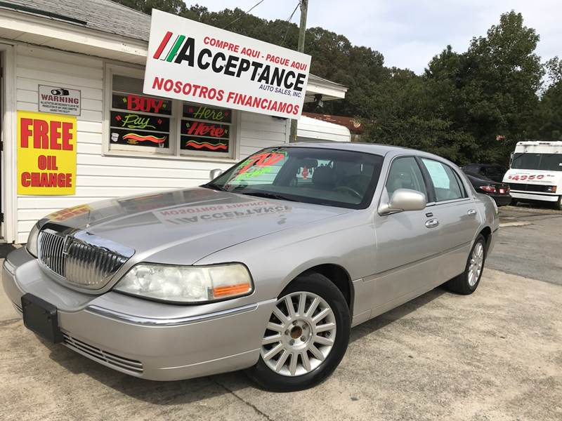 2004 Lincoln Town Car Signature 4dr Sedan In Douglasville Ga
