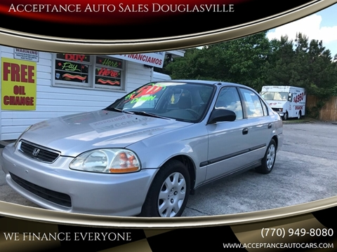 1997 Honda Civic for sale in Douglasville, GA