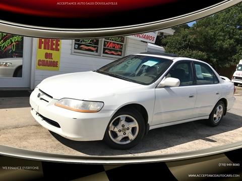 1998 Honda Accord for sale in Douglasville, GA