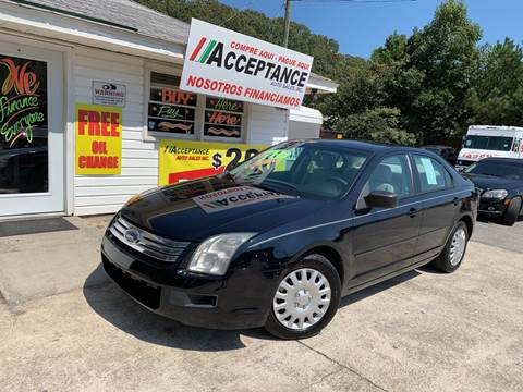 2008 Ford Fusion for sale in Douglasville, GA