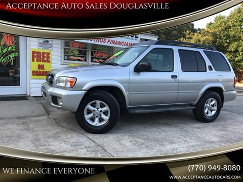 2004 Nissan Pathfinder for sale at Acceptance Auto Sales Douglasville in Douglasville GA