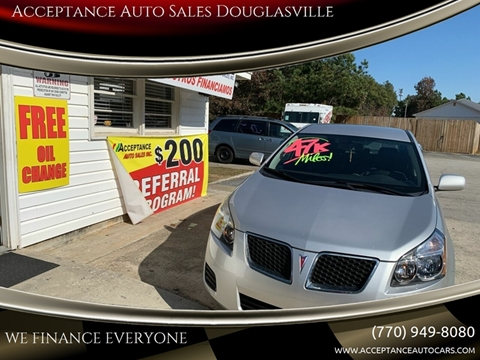 2009 Pontiac Vibe for sale in Douglasville, GA