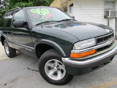 Chevrolet Blazer For Sale Georgia  Carsforsalecom