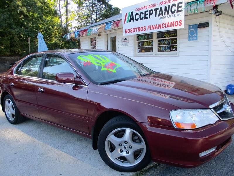 2003 Acura TL for sale at Acceptance Auto Sales Douglasville in Douglasville GA