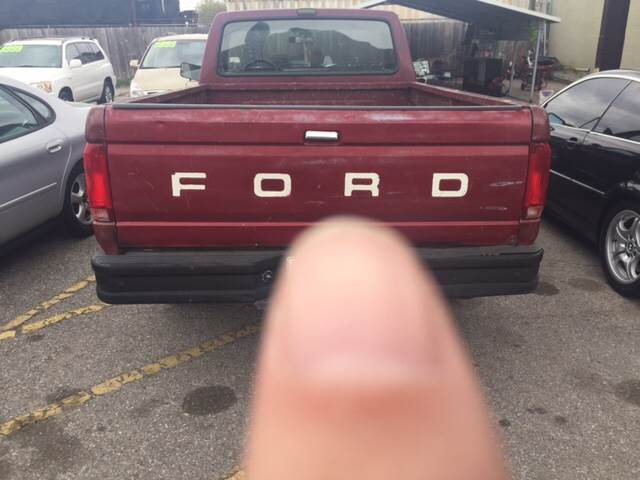 1990 Ford F-150 2dr Standard Cab LB - Metairie LA