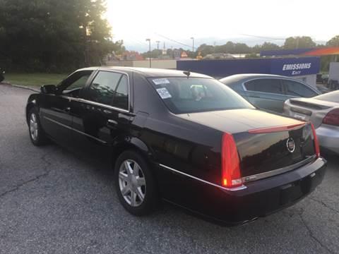 2007 Cadillac DTS for sale at Georgia Certified Motors in Stockbridge GA