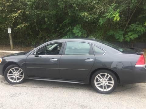 2013 Chevrolet Impala for sale at Georgia Certified Motors in Stockbridge GA