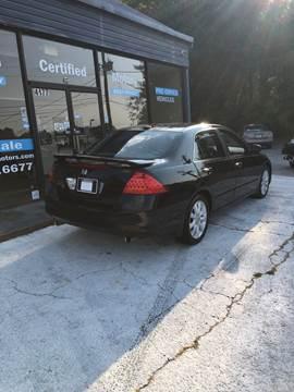 2007 Honda Accord for sale in Stockbridge, GA