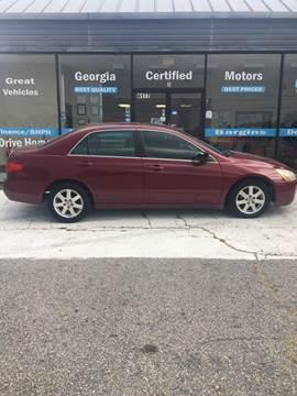 2005 Honda Accord for sale in Stockbridge, GA