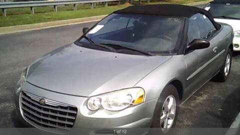 2004 Chrysler Sebring for sale at Georgia Certified Motors in Stockbridge GA