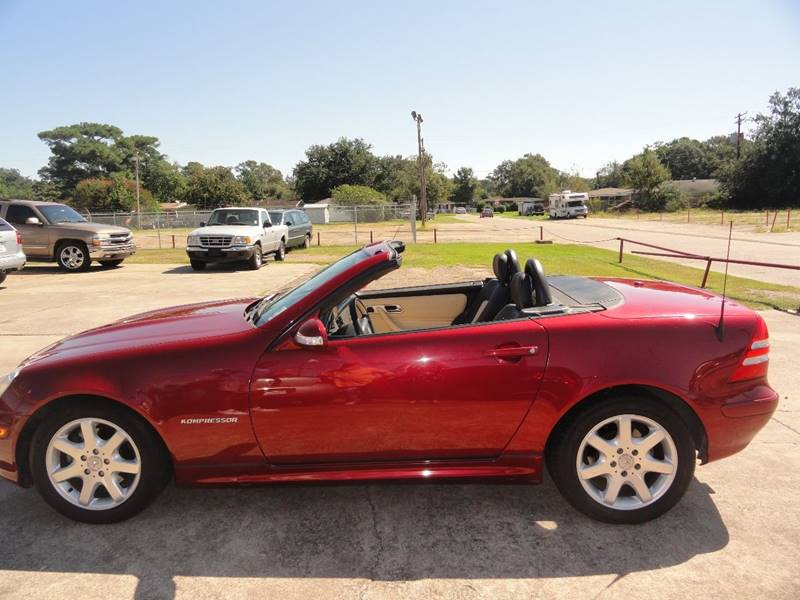 2002 Mercedes Benz Slk Slk230 Kompressor 2dr Convertible In Lake