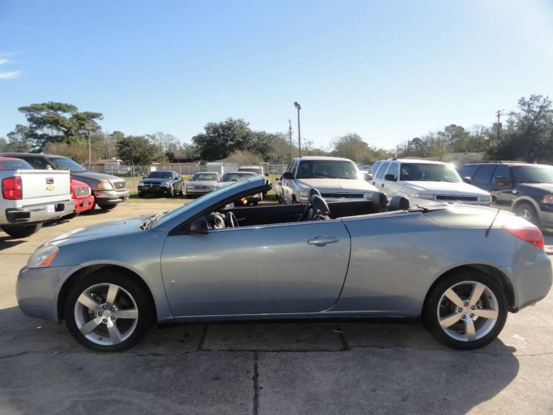 2007 pontiac g6 gt convertible manual