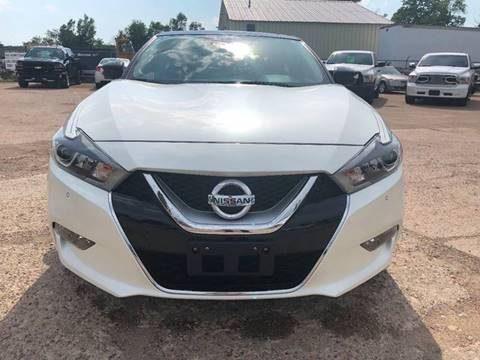 2016 Nissan Maxima for sale at SUNSET CURVE AUTO PARTS INC in Weyauwega WI