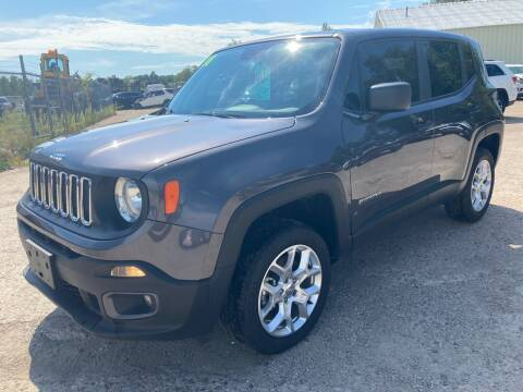 2018 Jeep Renegade for sale at SUNSET CURVE AUTO PARTS INC in Weyauwega WI
