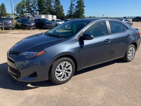 2017 Toyota Corolla for sale at SUNSET CURVE AUTO PARTS INC in Weyauwega WI