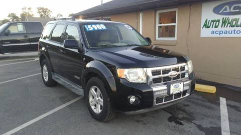 2008 Ford Escape Hybrid for sale in Berlin, NJ