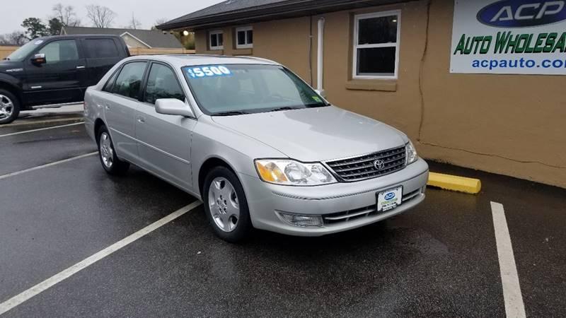Toyota Avalon XLS For Sale CarGurus - 2004 avalon