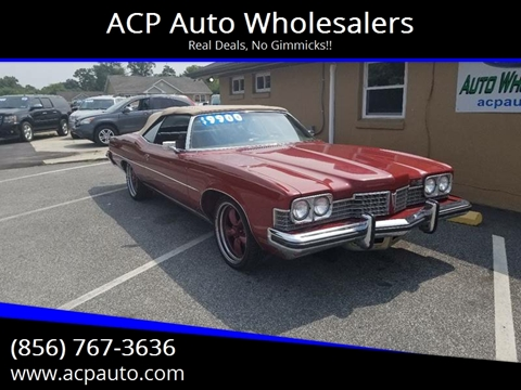 1973 Pontiac Grand Ville for sale at ACP Auto Wholesalers in Berlin NJ