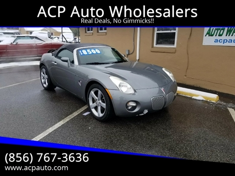 2006 Pontiac Solstice for sale in Berlin, NJ