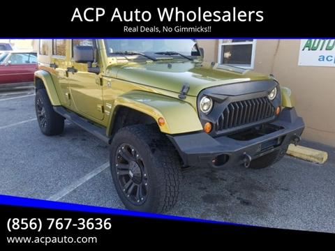 2007 Jeep Wrangler Unlimited for sale at ACP Auto Wholesalers in Berlin NJ