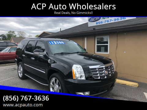 2011 Cadillac Escalade Luxury for sale at ACP Auto Wholesalers in Berlin NJ