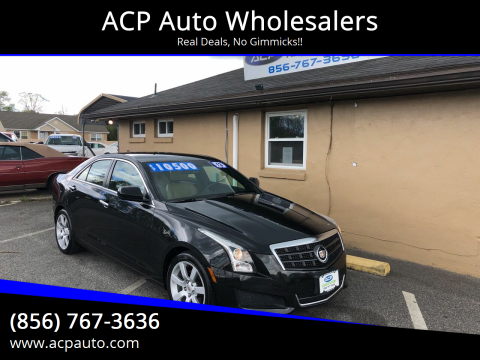 2013 Cadillac ATS 2.5L for sale at ACP Auto Wholesalers in Berlin NJ