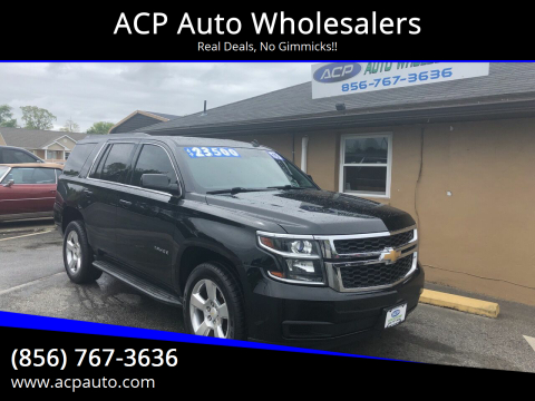 2015 Chevrolet Tahoe LT for sale at ACP Auto Wholesalers in Berlin NJ