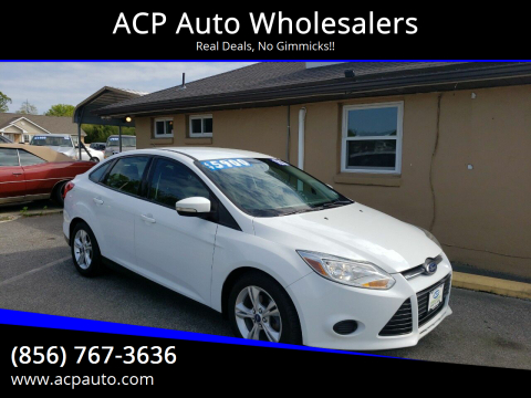 2014 Ford Focus SE for sale at ACP Auto Wholesalers in Berlin NJ