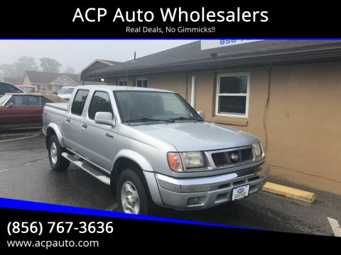 2000 Nissan Frontier SE for sale at ACP Auto Wholesalers in Berlin NJ