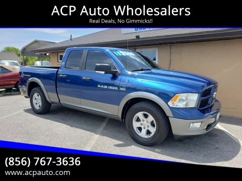 2011 RAM Ram Pickup 1500 Outdoorsman for sale at ACP Auto Wholesalers in Berlin NJ