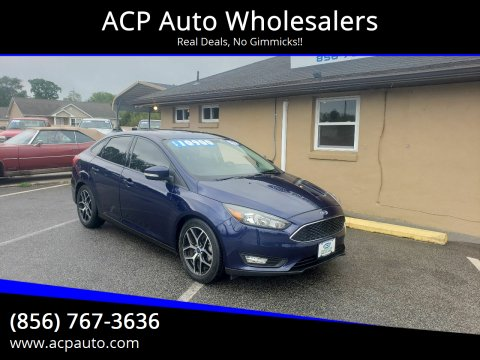 2017 Ford Focus SEL for sale at ACP Auto Wholesalers in Berlin NJ