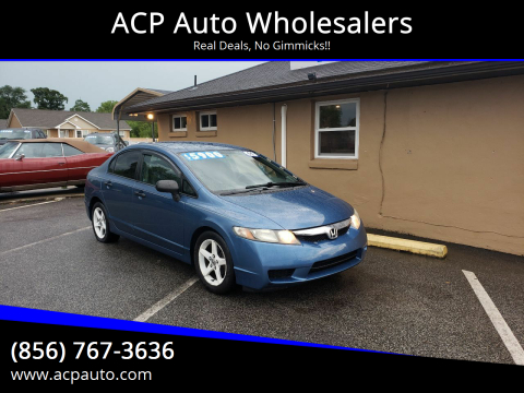 2011 Honda Civic for sale at ACP Auto Wholesalers in Berlin NJ