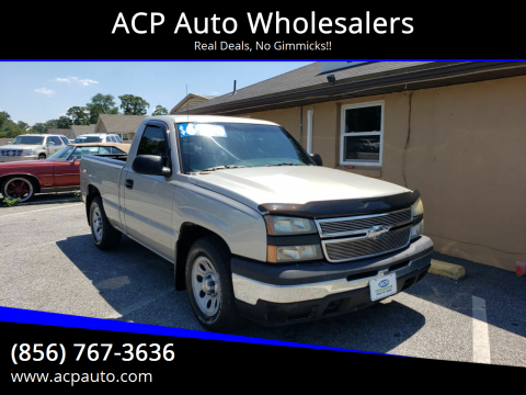 2006 Chevrolet Silverado 1500 for sale at ACP Auto Wholesalers in Berlin NJ