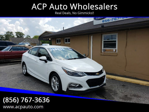 2016 Chevrolet Cruze for sale at ACP Auto Wholesalers in Berlin NJ