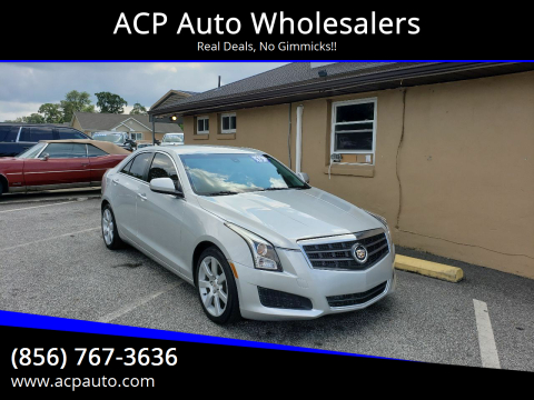 2013 Cadillac ATS for sale at ACP Auto Wholesalers in Berlin NJ